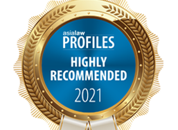 asialaw Profiles 2021 - High Recommended Firm
