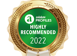 asialaw Profiles 2022 - Highly Recommended Firm